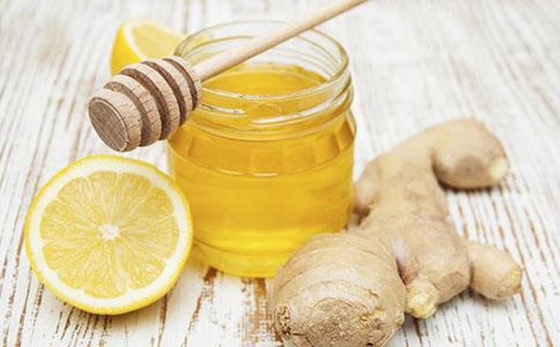 Gừng với mật ong chữa đau lưng